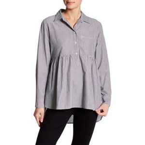 WALTER BAKER / LONG SLEEVE BABYDOLL DRESS SHIRT